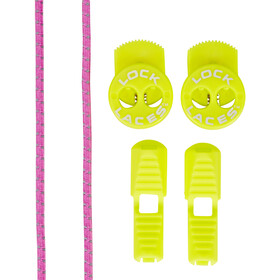 Lock Laces Run Laces Reflective, pink